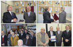 Jarbas Milititsky inaugura foto na galeria de ex-presidentes da Federação Israelita
