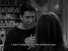 Ross and Rachel love