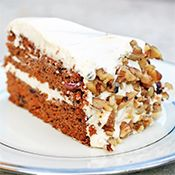 Carrot Cake with coconut flour, dates