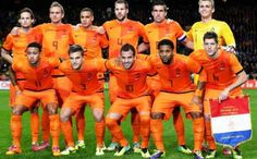 Netherlands Squad for FIFA World Cup 2014