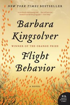 Flight Behavior By Barbara Kingsolver, now in paperback