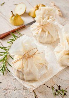 Saquitos de Pasta Filo - Filo Pastry Surprise {Recipe in Spanish with translator}