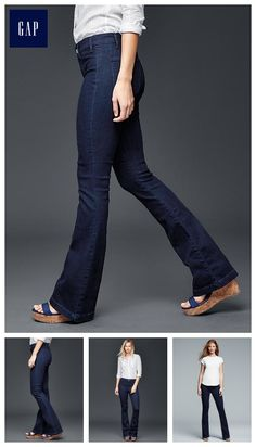 STRETCH 1969 flare jeans - Classic, with a sexy twist.