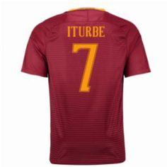 16-17 Roma Home #7 Iturbe Cheap Replica Jersey [G00822]