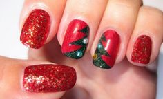 Christmas nail art designs 2013