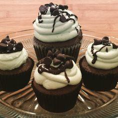 #mintchocolatechip #cupcakes