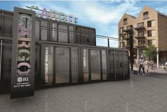 Giant recycled shipping containers will be used to create new restaurants in the heart of Bristol.  It will be the city's first retail hub made of shipping containers – a concept that has...