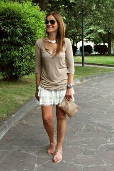 Short skirt by Zara Kids