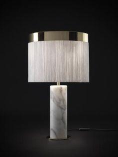 Orsola Table Lamp by Lorenza Bozzoli for Tato Italia 1 Best Desk Lamp, Design Light, Contemporary Table Lamps, Unique Lamps, Bedroom Lamps, Ceiling Lamp, Modern Lighting, Luxury Lighting, Lighting Ideas