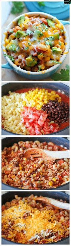 One Pot Mexican Skillet Pasta