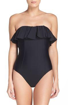 2e58443747 Main Image - Magicsuit® Sydney One-Piece Swimsuit Embroidered Blouse