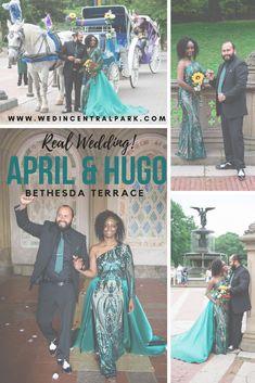 Intimate Wedding Underneath Bethesda Terrace, Central Park, New York Top Wedding Trends, Wedding Tips, Wedding Vendors, Wedding Styles, Our Wedding, Wedding Planning, Central Park Weddings, Real Weddings, Destination Weddings