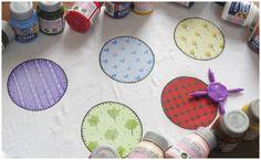 Pintura em tecido - Para Inspirar! - Artes Mariana Santos