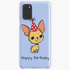 """""""Happy Birthday Chihuahua """" Case & Skin for Samsung Galaxy by jakezbontar   Redbubble Samsung Cases, Samsung Galaxy, Phone Cases, Happy Birthday Chihuahua, Protective Cases, Wraps, Rolls, Rap, Phone Case"""