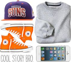 """""""THE LIFE OF AN AMERICAN TEENAGER"""" by doratthach ❤ liked on Polyvore"""