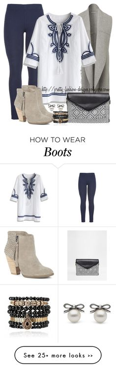 """""""~  Tunic Shirt & Boots  ~"""" by pretty-fashion-designs on Polyvore featuring maurices, Chicwish, Sole Society, ASOS and Samantha Wills"""