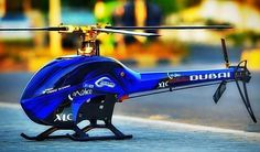 Blue & Gold by by sab_goblin Helicopter Kit, Rc Radio, Canopy Design, Radio Control, Goblin, Scale Models, Blue Gold, Instagram Posts, Diorama