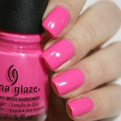 China Glaze I'll Pink To That from the Lite Brites Summer 2016 collection
