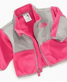 The North Face Baby Jacket, Baby Girls Denali Jacket - Kids Baby Girl (0-24 months) - Macy's #babyjackets #babygirljackets