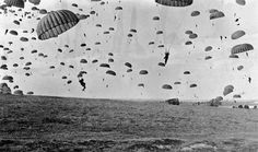 17.9.1944 Operation #MarketGarden the largest airborne operation in history was launched #OTD #WWII #WW2