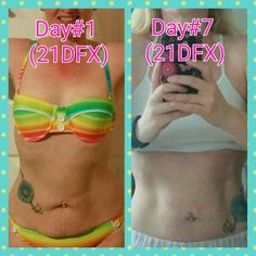 One week into the 21 Day Fix Extreme and I'm already seeing a difference, i cant wait to see what 21 days later brings!  Want to follow my journey and join my support group? Look me up on FB as April Drydgen or Militarywife2fit2quit with nutrition and fitness