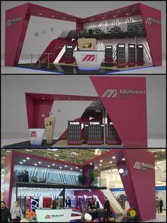stand design por Emin Copur em Coroflot.com