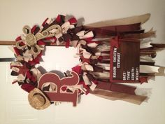 Baby Boy Hospital Door Hanger-i like this minus the cowboy stuff & diff colors