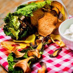 Gemüsechips aus dem Dörrgerät: knusprig, lecker und gesund!