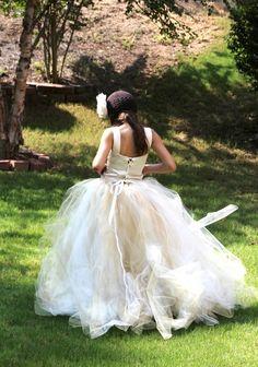 Flower Girl Tutu Dress.