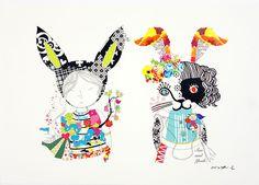 SasandYosh-ArtPrint-BunnyGirls-3