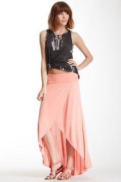 Hang On Wrap Maxi Skirt by Billabong on @HauteLook