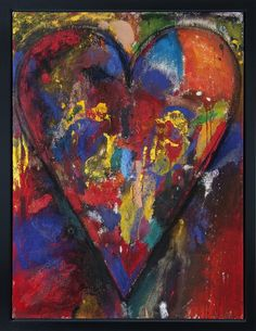 French- Canadian Racing Heart | Jim Dine, French- Canadian Racing Heart (2012)