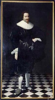 Nicolaes Eliasz Pickenoy (attr.), Portrait of Dirck de Graeff, c. 1630 - Private Collection