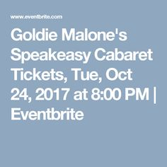 Goldie Malone's Spea