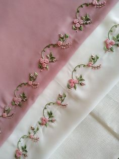 Hand Embroidery Patterns Flowers, Hand Embroidery Videos, Hand Embroidery Tutorial, Embroidery On Clothes, Hand Work Embroidery, Embroidery Flowers Pattern, Couture Embroidery, Embroidery Motifs, Flower Embroidery Designs