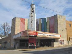 Poplar Bluff, Missouri The old Rodger theater.