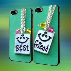Best Friends Necklaces Custom Case iPhone by laskarspelangi, $31.89