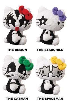 Hello Kitty x KISS band plush. Lol