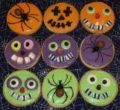 Halloween Biscuits -