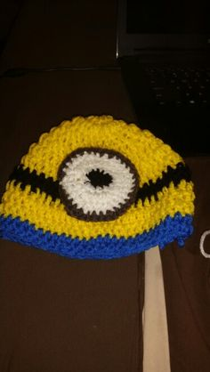 Minion hat for Harleigh