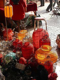 Dirt Market Lamps, Beijing, China