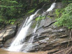 Lake jocassee in sc | South Carolina: Mills Creek Falls on Lake Jocassee