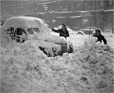 The Blizzard of 1947, New York.