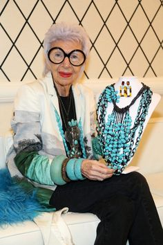 7 Things Iris Apfel Taught Us About Life at New York Fashion Week