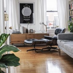 FastCompany recently asked me to get a little look into my apartment. Here is one of the shots I shared with them.