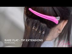 Removing Babe Tape In Hair Extensions 14