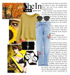 """""""SheIn"""" by we-pleasantpeach-blr ❤ liked on Polyvore featuring Gianvito Rossi, Fendi, Citizens of Humanity and Cesare Paciotti"""