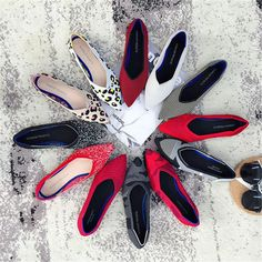 New Women& Casual flats bailarinas luxury Brand Shallow Mouth Pointed Ballet Female Boat Shoes wool Knitted Maternity loafers Ballerina Flats, Ballet Shoes, Women's Shoes, Knit Shoes, Loafers For Women, Shoes Women, Ladies Shoes, Pointed Toe Flats, Driving Loafers