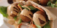 Falafel with Chipotle Tahini Dip