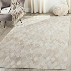 Found it at AllModern - Sevastopol Hand-Woven Ivory Area Rug